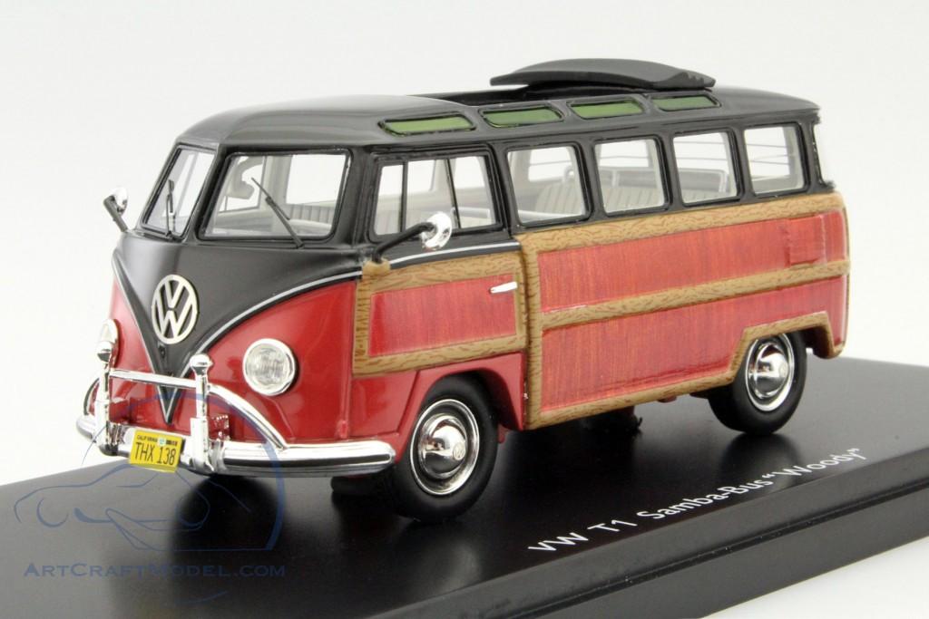 Volkswagen vw t1 samba bus woody black brown 450894300 ean volkswagen vw t1 samba bus woody black brown altavistaventures Image collections