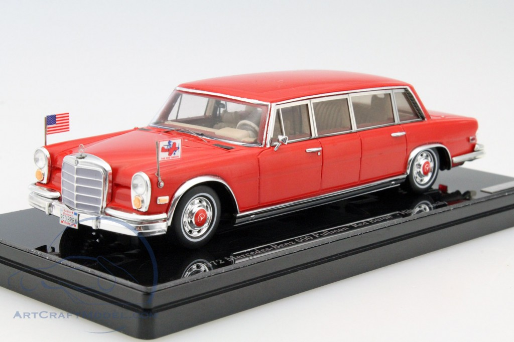 Mercedes benz 600 pullman red baron hilton family baujahr for Brumos mercedes benz