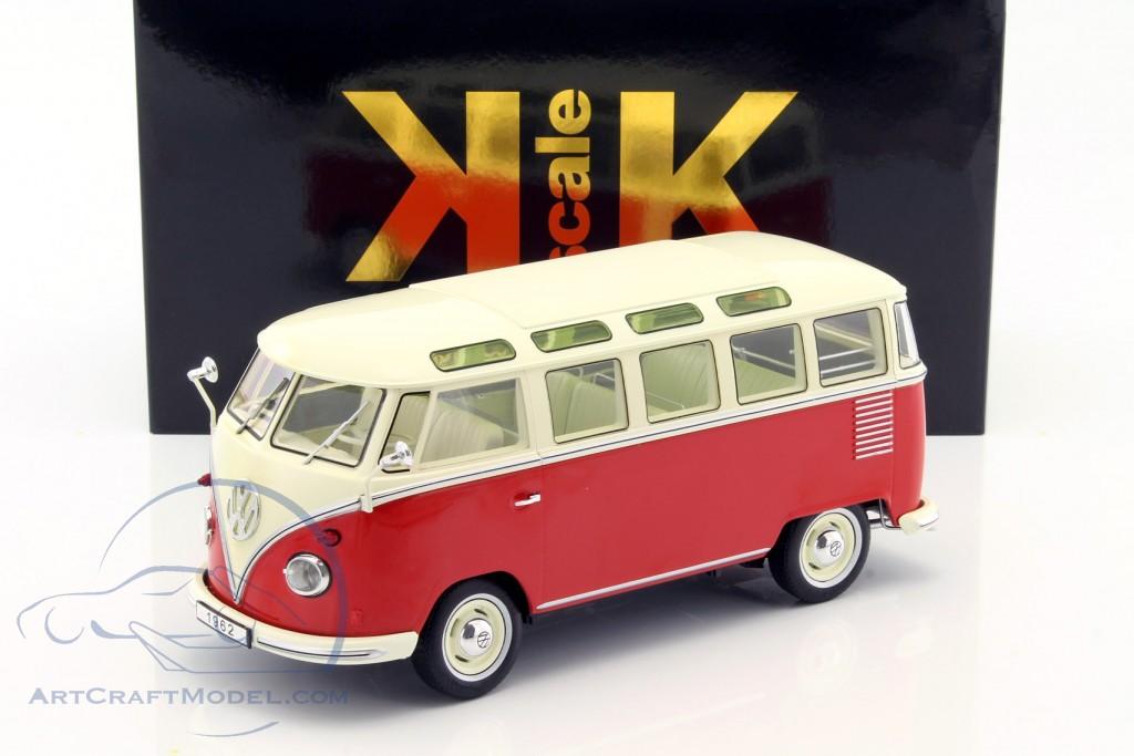 volkswagen vw bulli t1 samba year 1962 red cream. Black Bedroom Furniture Sets. Home Design Ideas