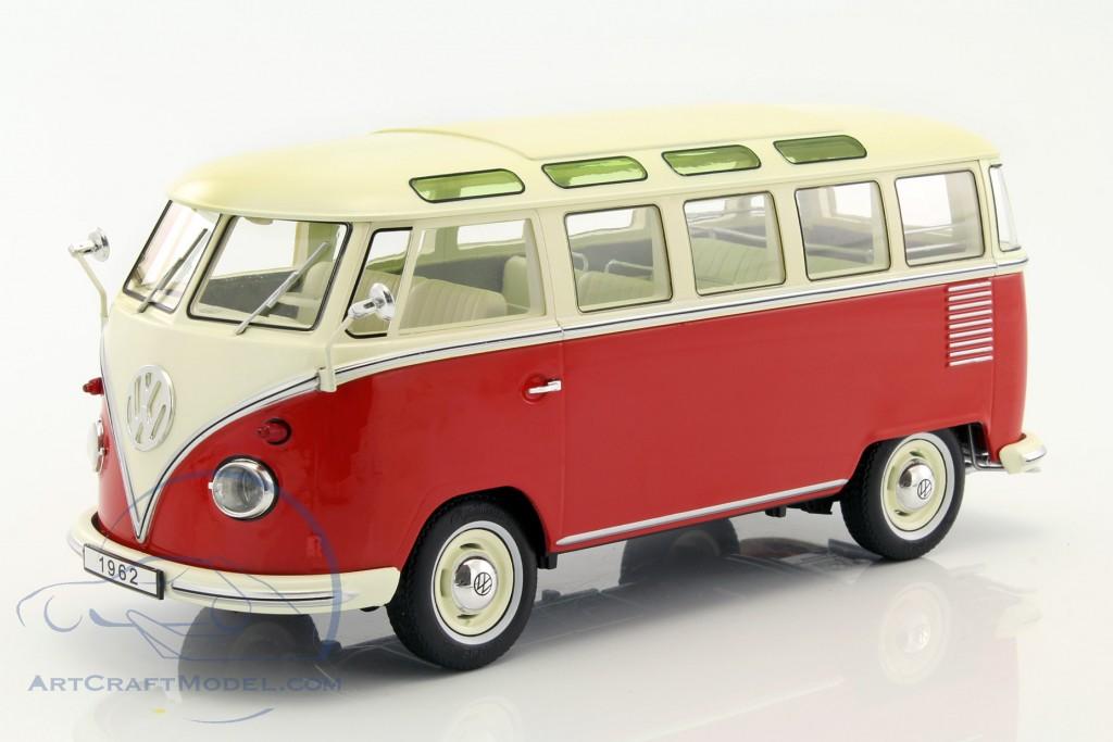 volkswagen vw bulli t1 samba baujahr 1962 rot creme kkdc180151. Black Bedroom Furniture Sets. Home Design Ideas