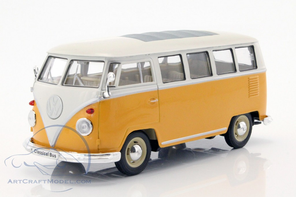 volkswagen vw t1 bus year 1963 yellow white 22095w. Black Bedroom Furniture Sets. Home Design Ideas