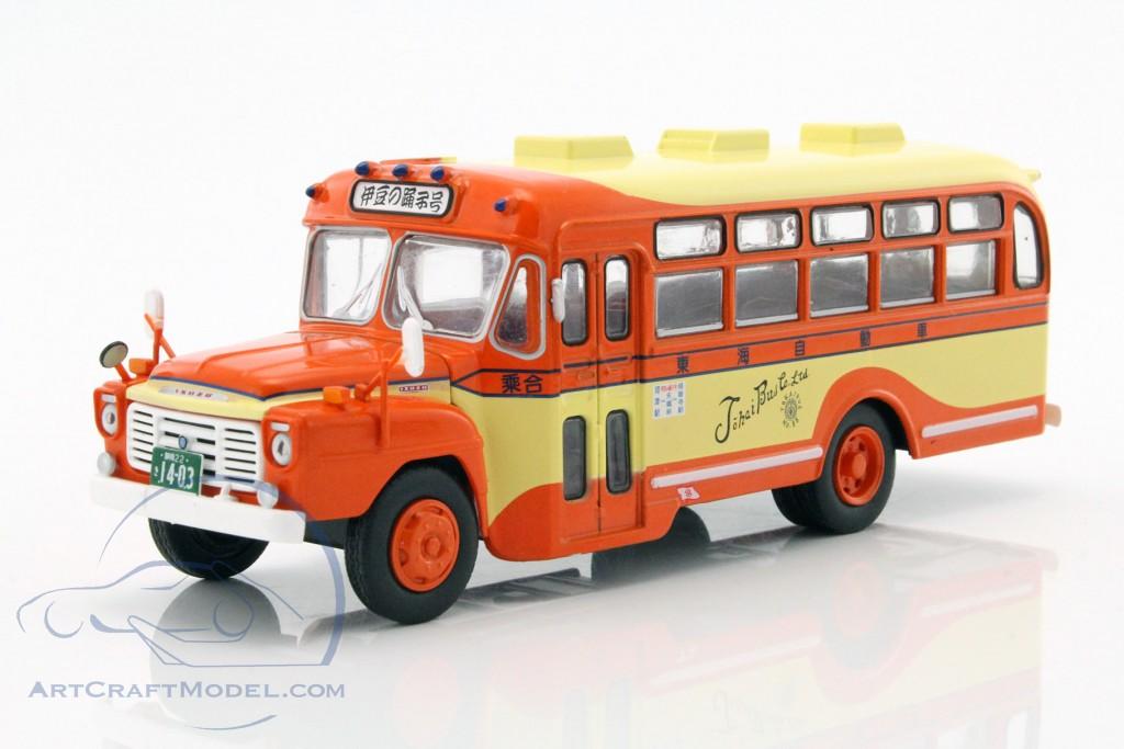 isuzu bxd-30 bus baujahr 1962 orange / gelb - maghc12