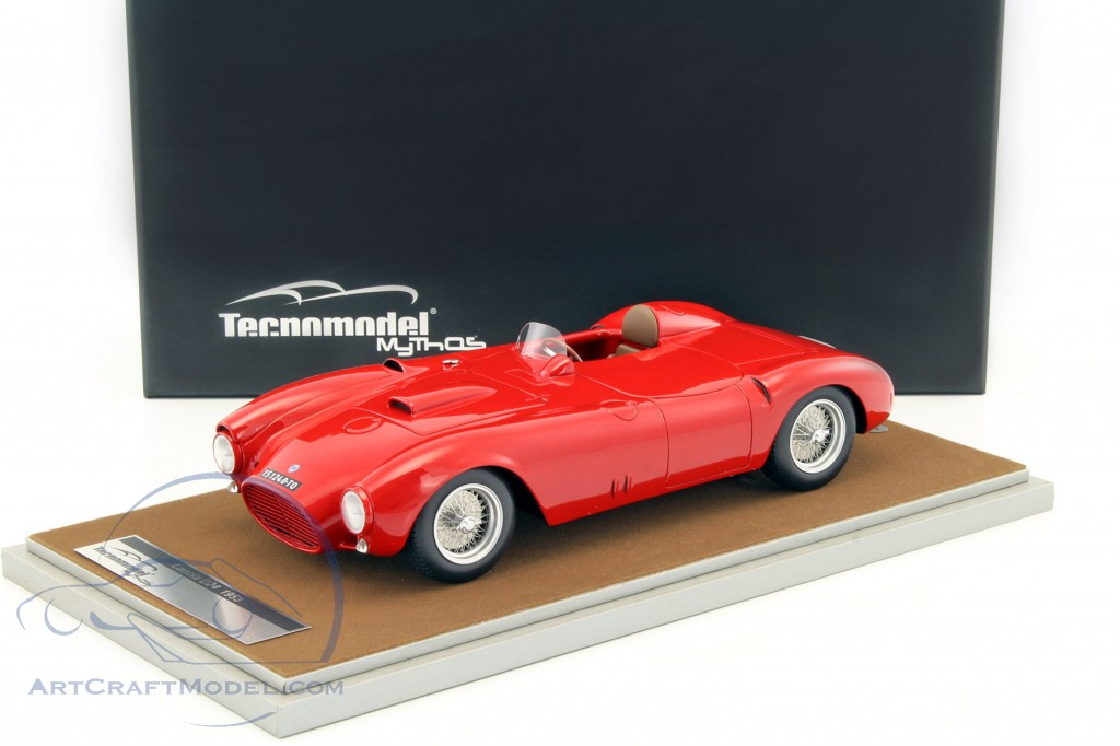 Lancia D24 Spyder Press Version Rosso Corsa Year 1953 Red Tm18 43a
