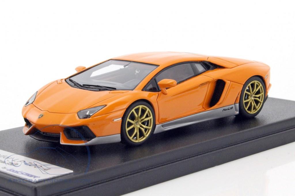 Lamborghini Aventador Lp700 4 Miura Homage Orange Ls384mh E
