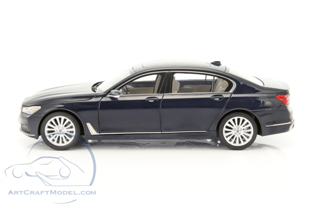 BMW 750 Li G12 Year 2015 Imperial Blue