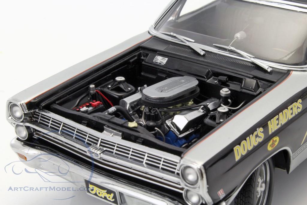 Ford Fairlane Georgia Shaker Drag Racer year 1967 black