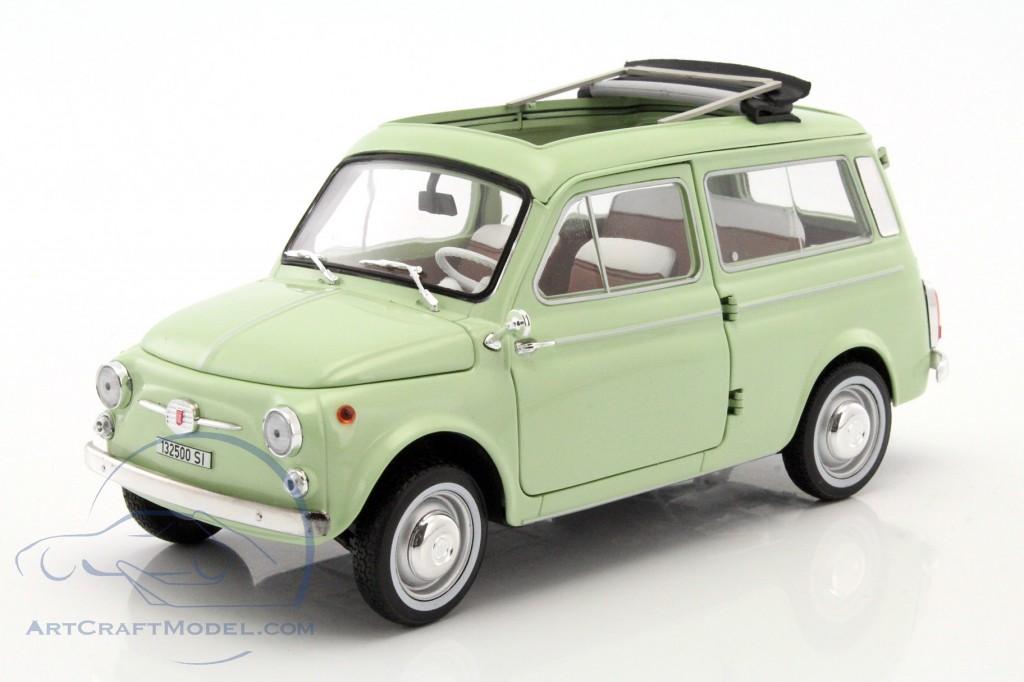 Fiat 500 Giardiniera Year 1962 Lime