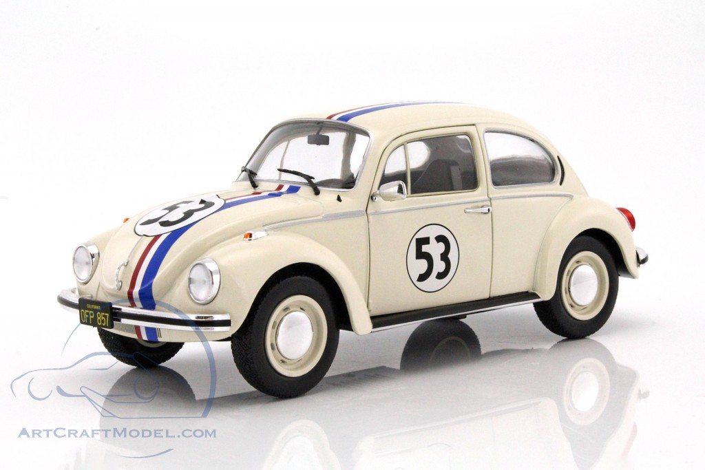 volkswagen vw k fer 53 herbie cream s1800505 ean 3663506000492. Black Bedroom Furniture Sets. Home Design Ideas