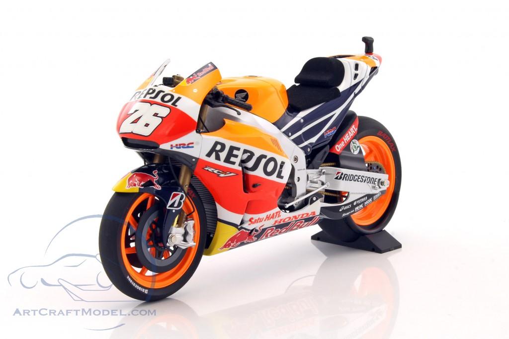Honda Rc213V Dani Pedrosa Motogp 2015 MINICHAMPS 1:12 122151126