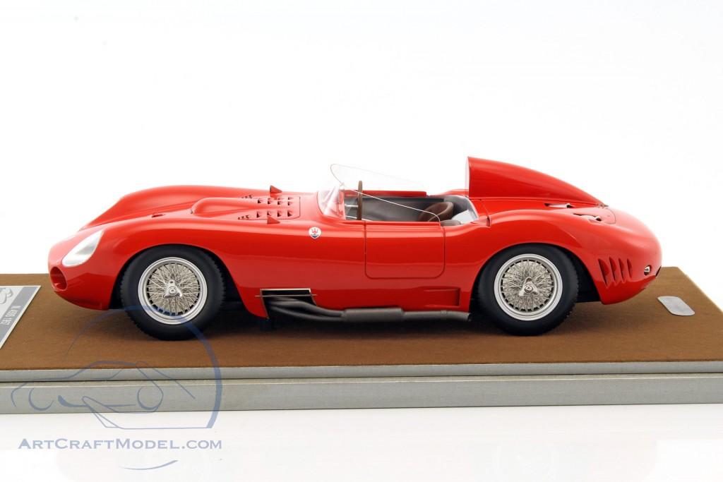 Maserati 450s Press Street Version 1957 Red Tm18 45e
