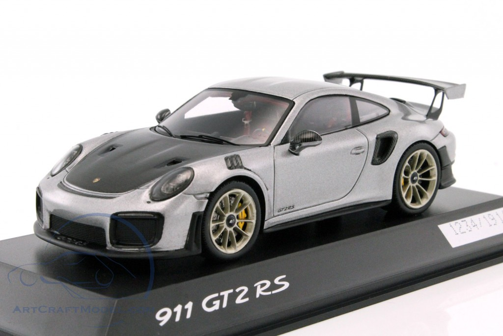 porsche 911 991 ii gt2 rs silver black wap0201510j. Black Bedroom Furniture Sets. Home Design Ideas