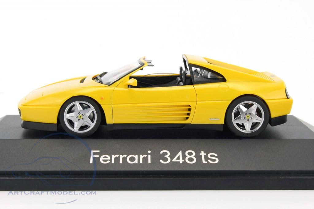 ferrari 348 ts targa year 1985 1995 yellow 010214. Black Bedroom Furniture Sets. Home Design Ideas