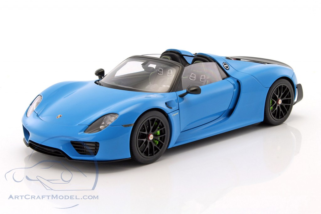 porsche 918 spyder blau one of a kind arrow blue porsche. Black Bedroom Furniture Sets. Home Design Ideas