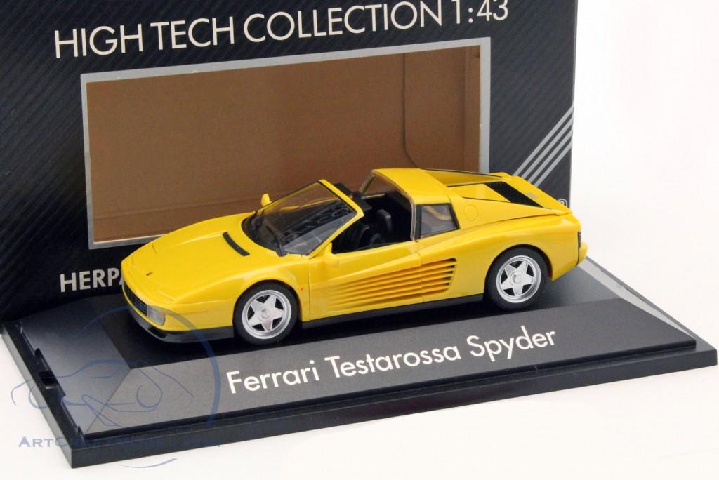 Ferrari Testarossa Spyder year 1984-1996 yellow - 010313