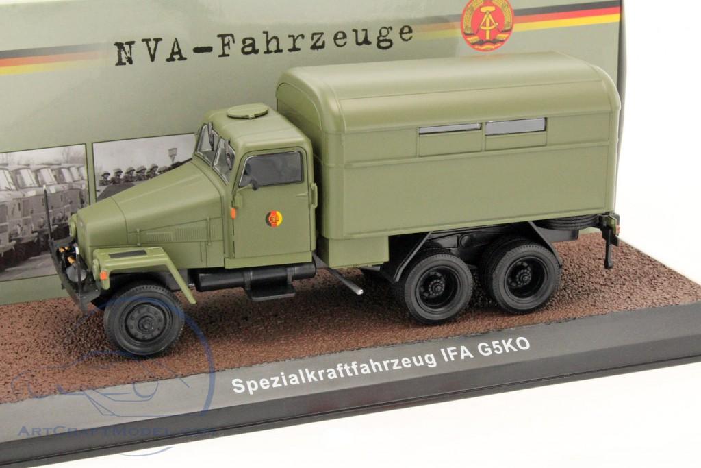 Atlas 1:43 IFA G5KO Spezialkraftfahrzeug NVA-Fahrzeuge