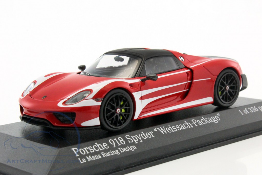 porsche 918 spyder weissach package lemans racing design 2015 410062135 ean 4012138141759. Black Bedroom Furniture Sets. Home Design Ideas