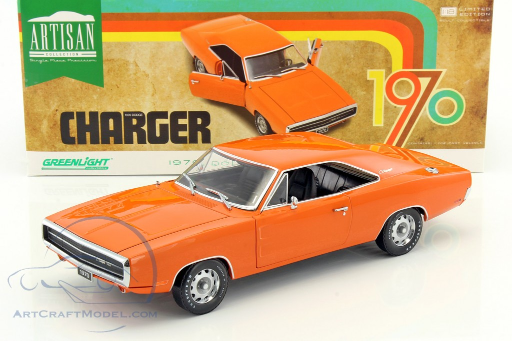 Dodge Charger 500 Year 1970 Hemi Orange 19028 Ean 812982024468