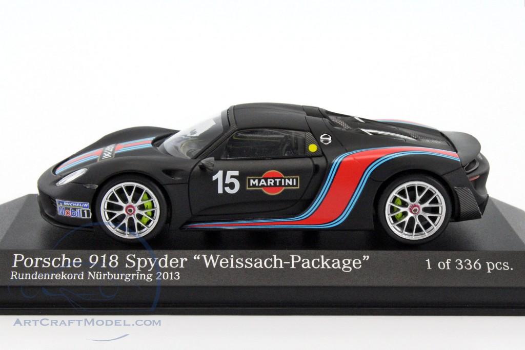 porsche 918 spyder weissach package martini lap record nurburgring 2013 410062137 ean. Black Bedroom Furniture Sets. Home Design Ideas