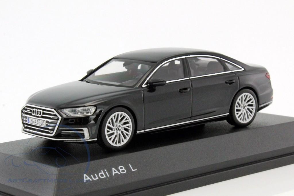 Audi A8 L Myth Black
