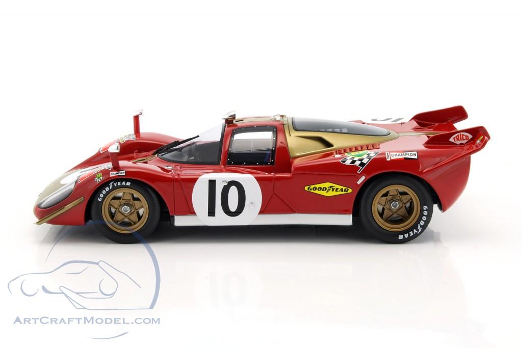 24h le mans Merzario//regazzon 1970 1:18 CMR ferrari 512s Long Tail #8