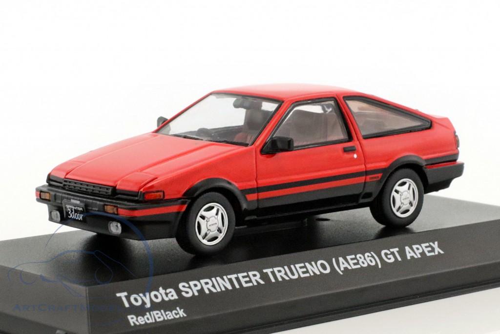 ... Toyota Sprinter Trueno (AE86) Red / Black ...