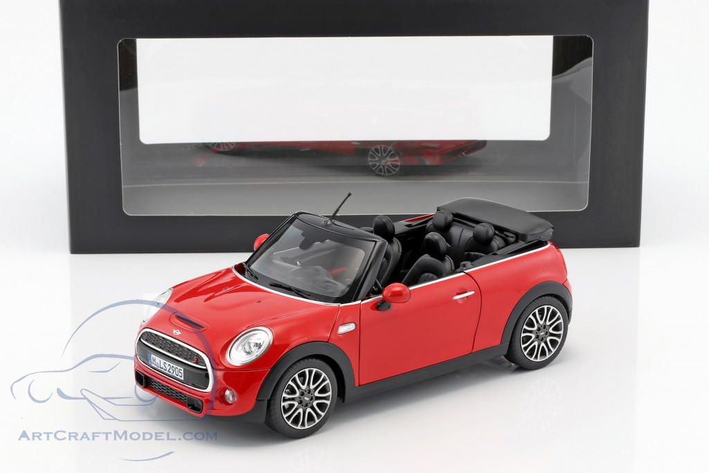 mini cooper s cabriolet f57 baujahr 2016 rot 80432405583 ean 80432405583. Black Bedroom Furniture Sets. Home Design Ideas