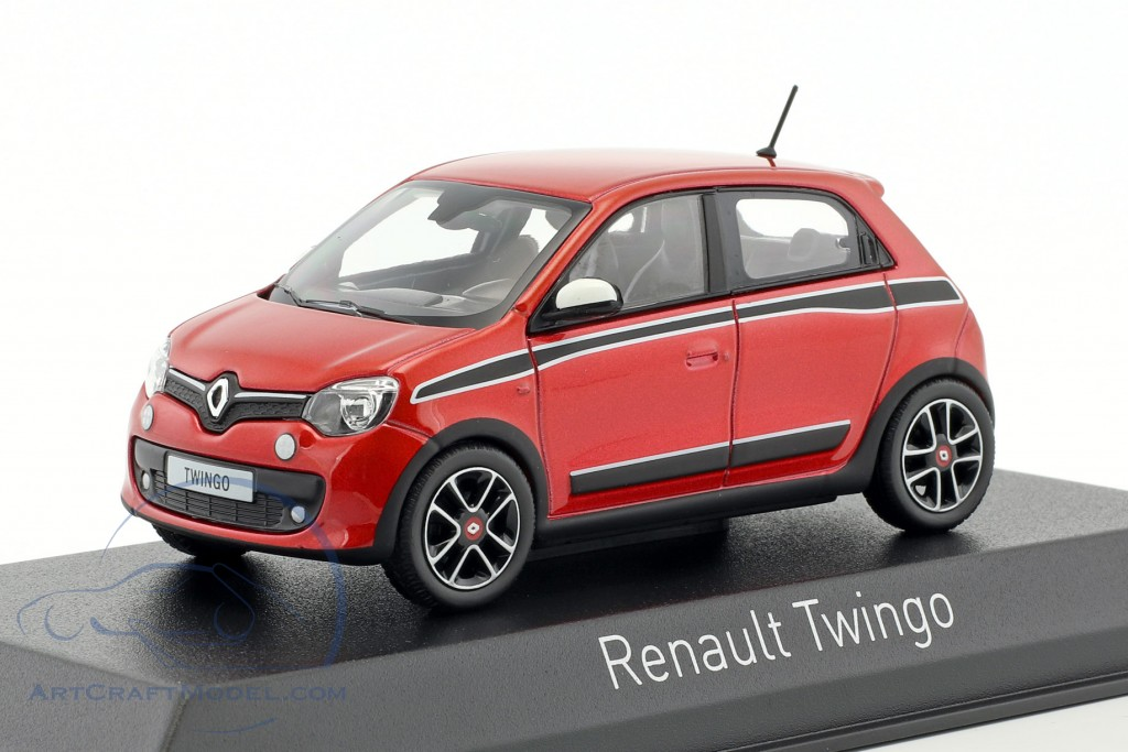 renault twingo sport pack baujahr 2014 rot metallic schwarz 517416 ean 3551095174161. Black Bedroom Furniture Sets. Home Design Ideas