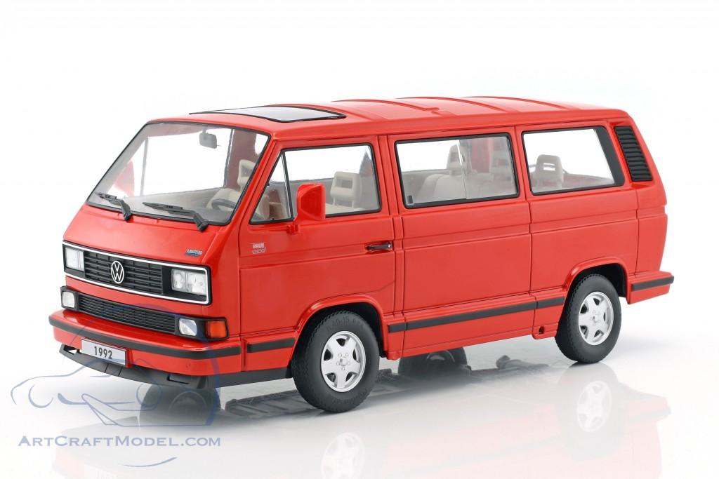 volkswagen vw bulli t3 multivan last edition 1992 rot. Black Bedroom Furniture Sets. Home Design Ideas