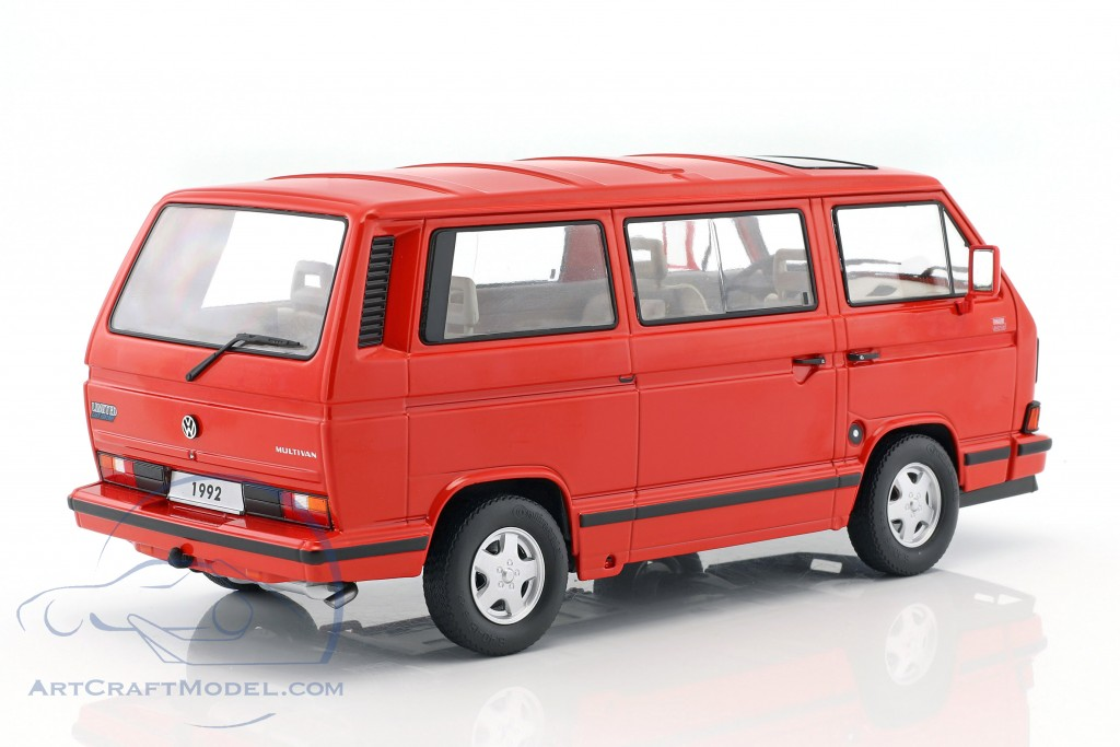 volkswagen vw bulli t3 multivan last edition 1992 red. Black Bedroom Furniture Sets. Home Design Ideas