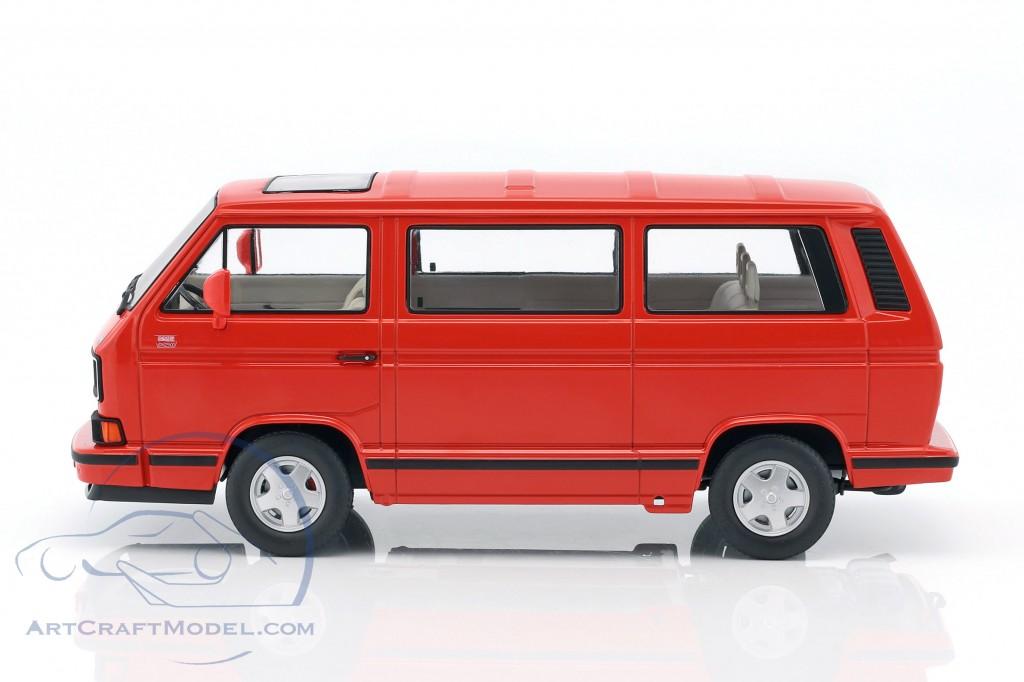 volkswagen vw bulli t3 multivan last edition 1992 red. Black Bedroom Furniture Sets. Home Design Ideas