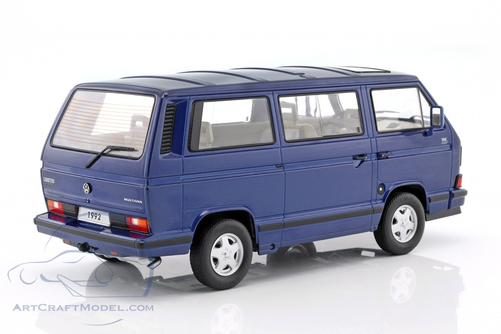 volkswagen vw bulli t3 multivan last edition 1992 blue. Black Bedroom Furniture Sets. Home Design Ideas