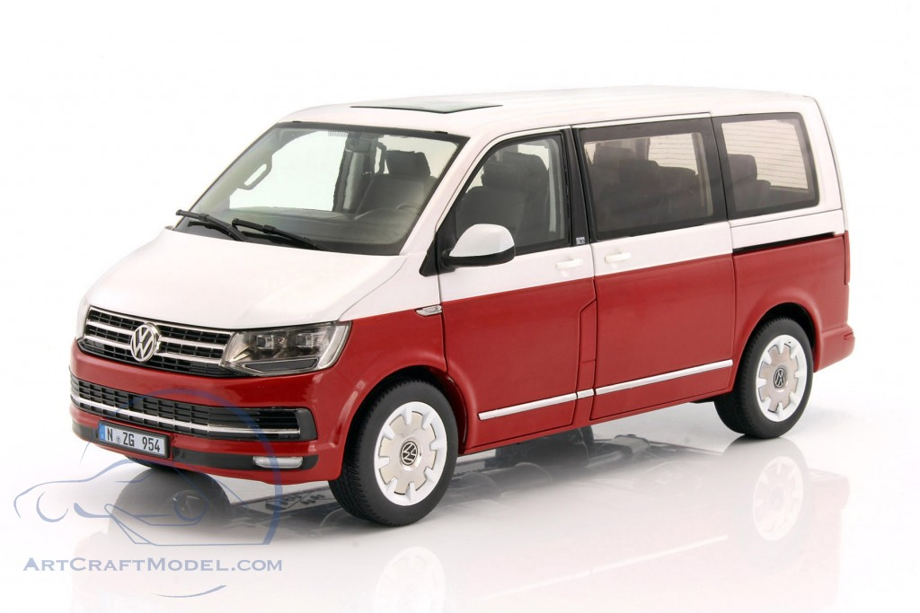 volkswagen vw multivan t6 generation six baujahr 2017 rot. Black Bedroom Furniture Sets. Home Design Ideas