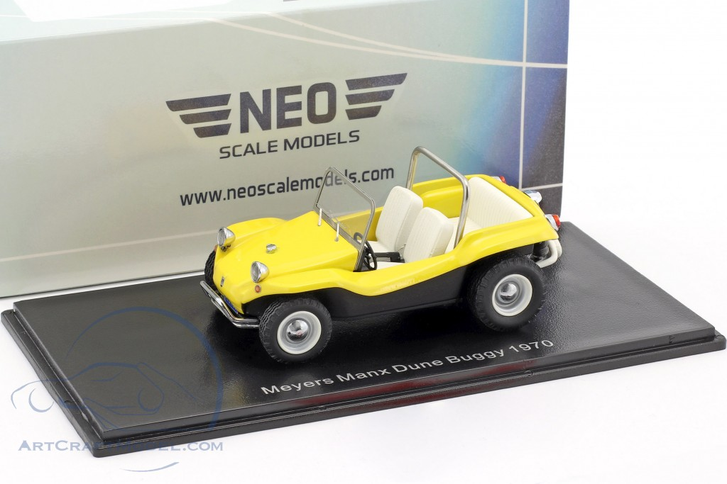 Volkswagen VW Dune Buggy Meyers Manx Construction year 1970 yellow