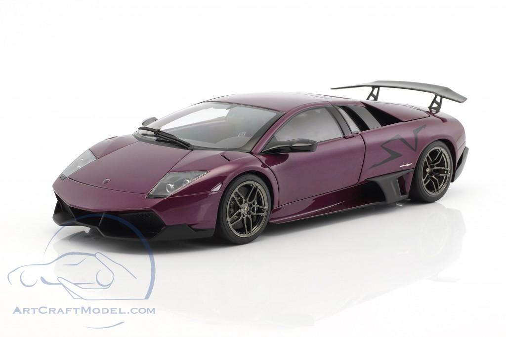 Lamborghini Murcielago Lp670 4sv Bj 2009 Purple Metallic 74628