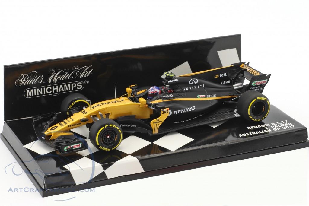 Palmer fórmula 1 gp australia 2017-1:43 Minichamps 417170030 Renault r.s.17