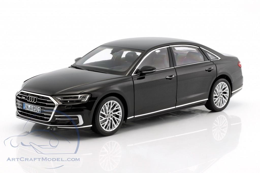 ... Audi A8 L Year 2017 Myth Black ...