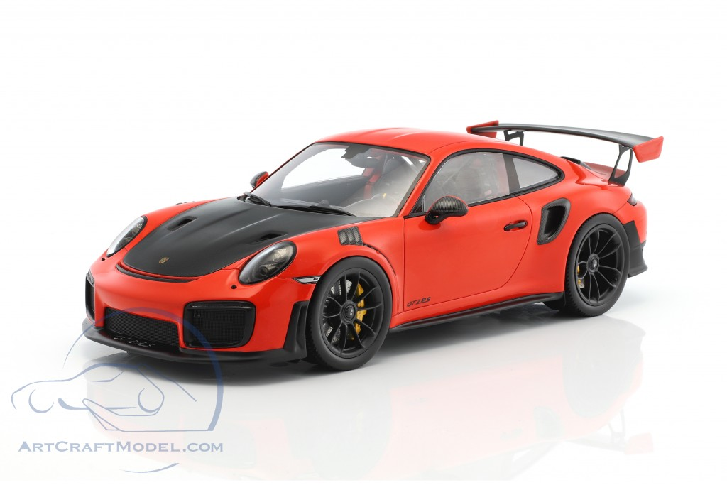 Porsche 911 991 Gt2 Rs Year 2017 With Showcase Lava