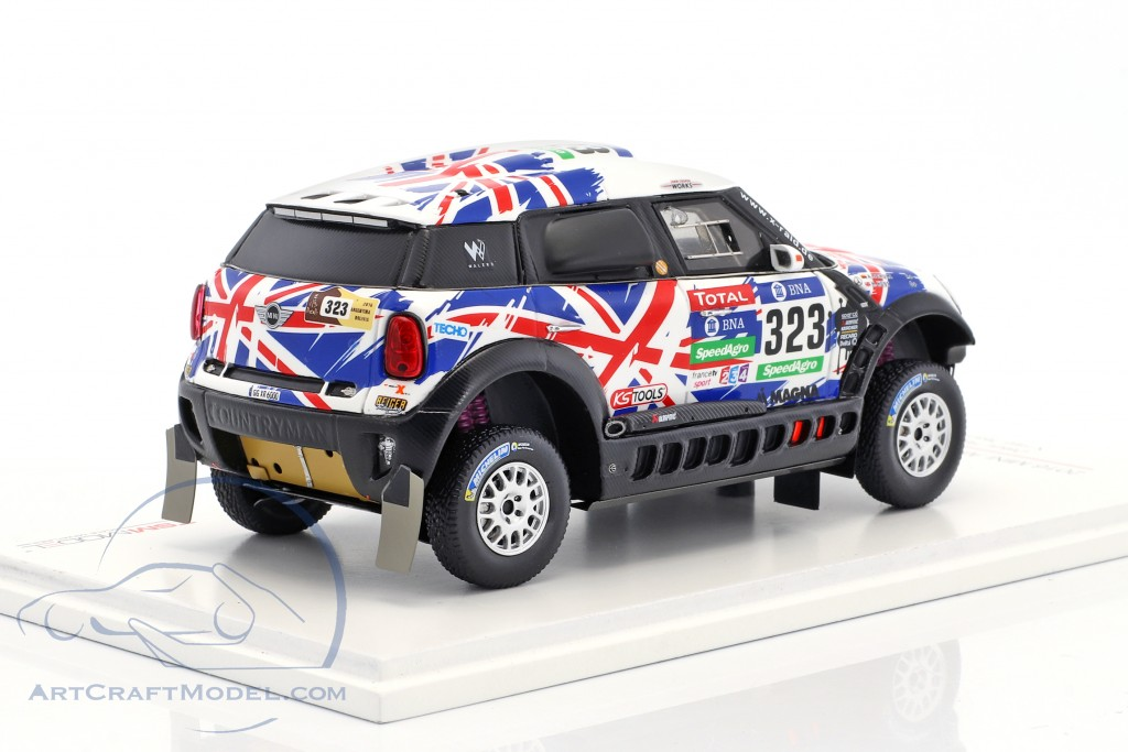 Mini All4 Racing 323 Rallye Dakar 2016 Hunt Schulz