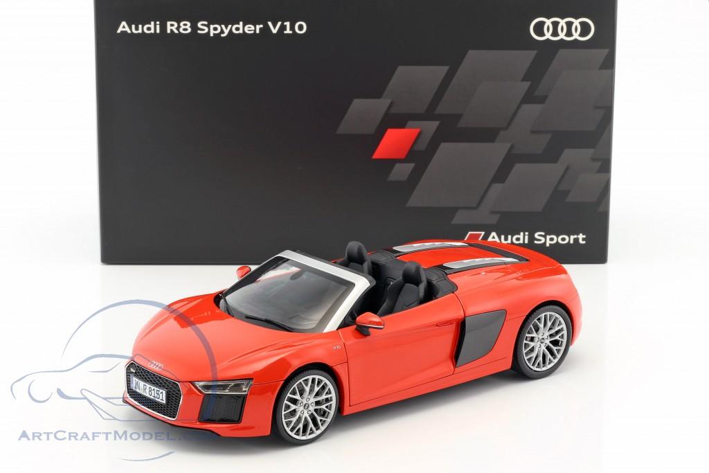 Audi R8 Spyder V10 Dynamite Red 5011618552 Ean 2160000044805