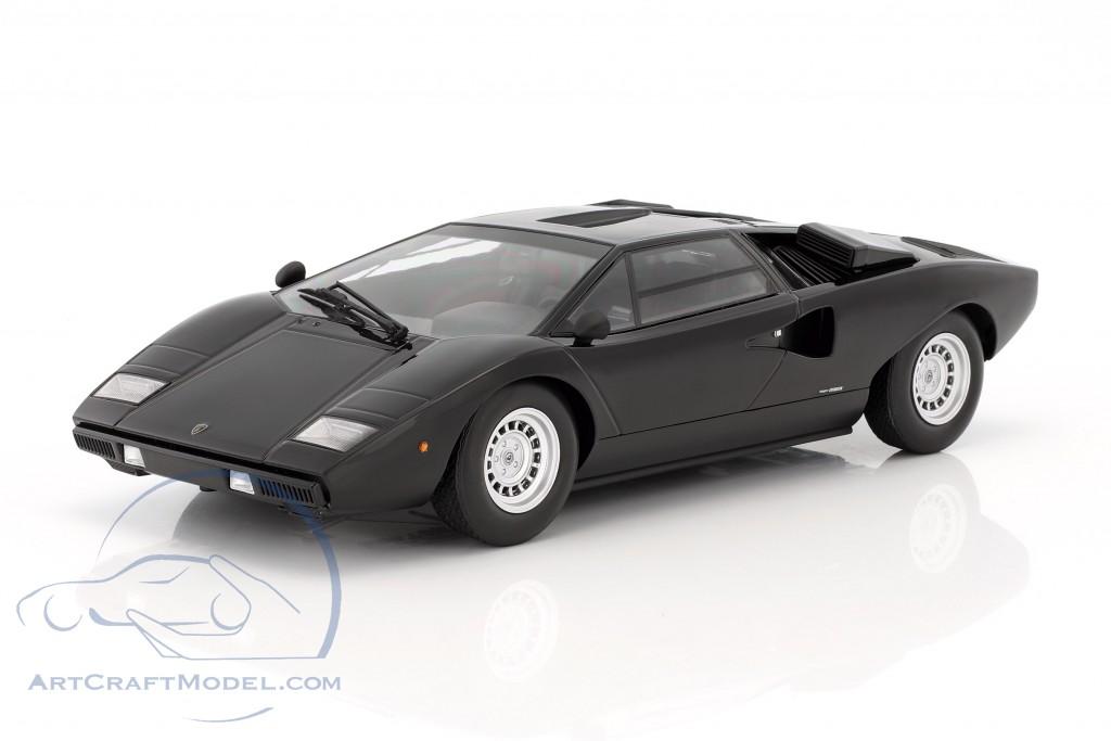 Lamborghini Countach Lp400 Year 1974 1978 Black C09531bk Ean