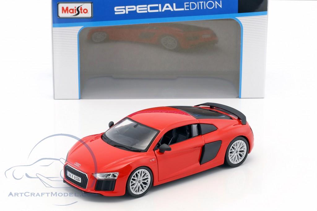 Audi R8 V10 Plus Red Black 31513r Ean 090159315131