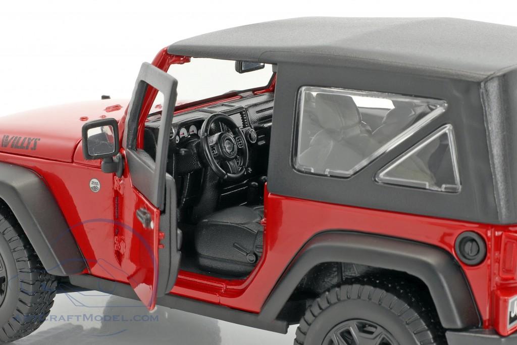 Jeep Wrangler Willys Baujahr 2014 kupfer metallic 1:18 Maisto
