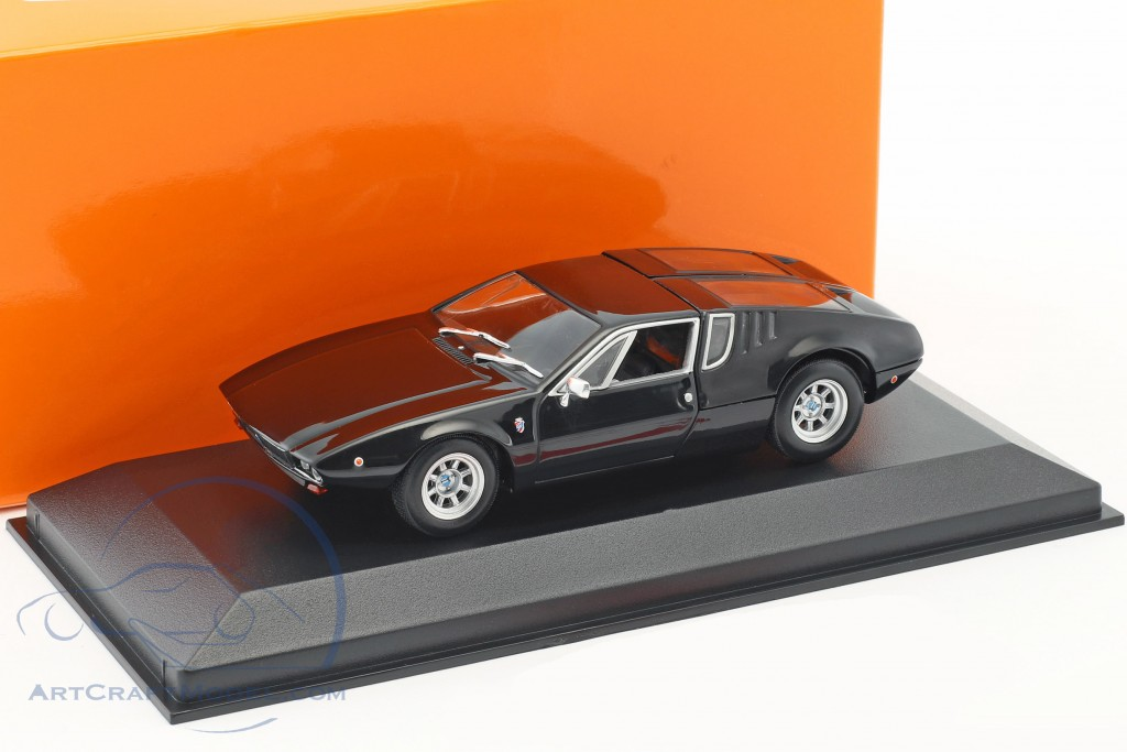 De Tomaso Mangusta >> De Tomaso Mangusta Construction Year 1967 Black