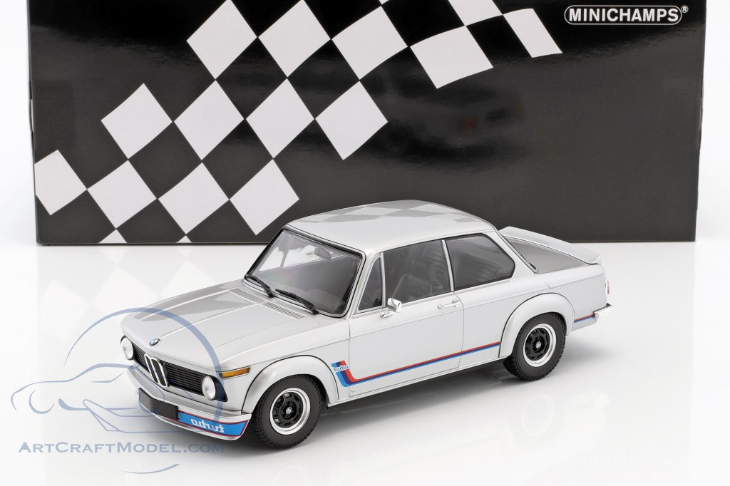 Bmw 2002 Turbo Year 1973 Silver 155026201 Ean 4012138141971
