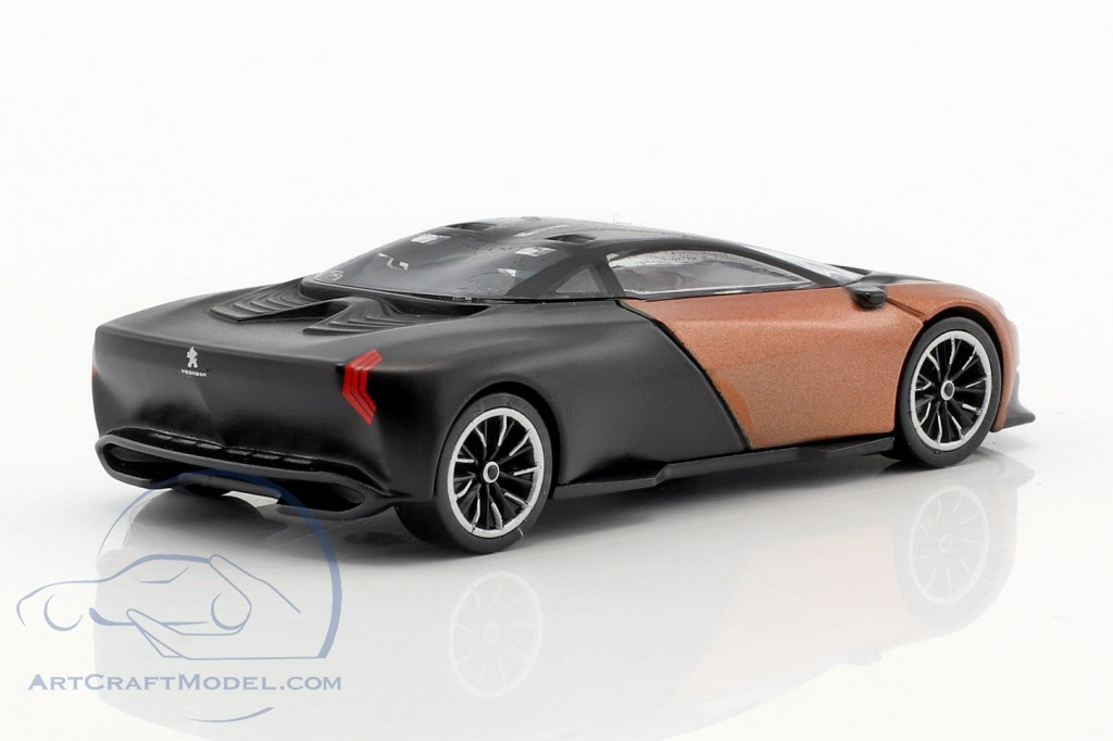 peugeot onyx concept car baujahr 2012 mattschwarz kupfer metallic 12lecc904 314753 ean. Black Bedroom Furniture Sets. Home Design Ideas