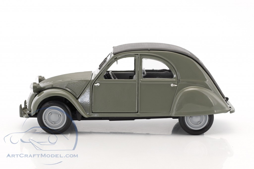 citroen 2cv ente year 1952 olive gray 31834g ean. Black Bedroom Furniture Sets. Home Design Ideas