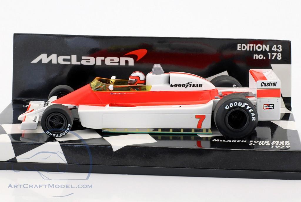 John Watson Mclaren Ford M28 7 Formula 1 1979 537794307