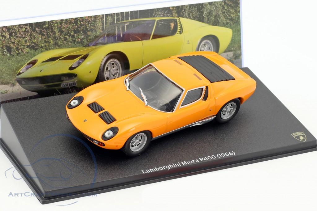 Lamborghini Miura P400 Year 1966 Orange Mag Jt05