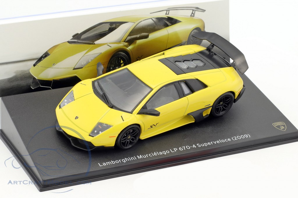 Lamborghini Murcielago Lp 670 4 Superveloce Year 2009 Yellow Mag Jt03