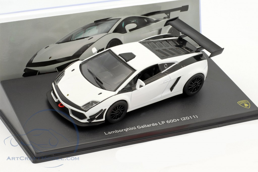Lamborghini Gallardo Lp 600 Year 2011 White Black Mag Jt64